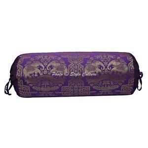 Traditional Bolster Pillowcas Elephant Pillow Bedding Cylindrical Masand Bolster