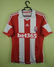 Stoke jersey shirt 2013/2014 Home official adidas football soccer size S
