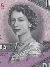 1954 BANK OF CANADA QEII $10 **DEVILS FACE** (( aUNC ))