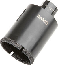 "DAMO 1-3/4"" Dry Diamond Core Drill Bit / Hole Saw for Granite/Concrete/Stone"