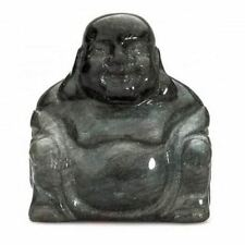 Obsidian Buddha 50mm Ornaments Figurine Precious Stone Statue