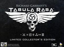 Tabula Rasa Limited Collector's Edition (PC) - BRAND NEW