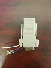 Lot of 42 DB9 Female to RJ11/12 (6 Wire) Modular connectors