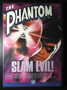 The Phantom DVD Billy Zane - 1996 RARE MOVIE - Genuine Region 4 Australia