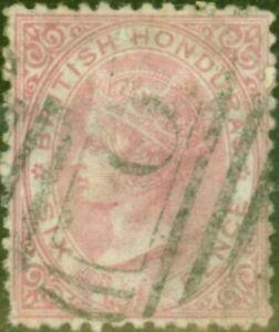 British Honduras 1872 6d Rose SG9 Average Used