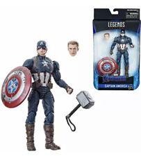 """Marvel Legends 6"""" Worthy Captain America New Endgame Honor Glory Steve Rogers"""