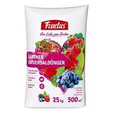 FRUCTUS jardinier Engrais universel 25 kg ARBUSTE Légume Fruit Fleur haie