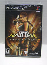 Lara Croft Tomb Raider Anniversary Black Label for Ps2 New Sealed Package