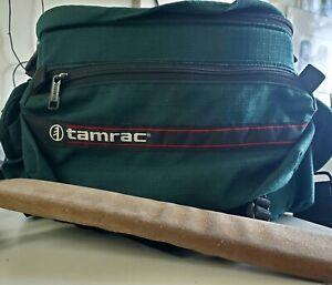 Vintage Tamrac Camera Bag Green