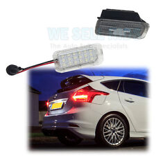 18 SMD LED REAR NUMBER / LICENCE PLATE UNITS FORD Fiesta Mk6 Mk7 2008 +