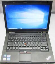 """LENOVO THINKPAD T430 2347-GR9 14"""" I5-3320M 4GB HDD W10 DVD-RW WIFI, 500GB - NICE"""