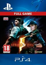 Resident Evil 5 DLC Full Game Remastered HD Version PS4 -  Same Day Dispatch