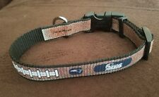 New England Patriots Reflective Toy NFL Dog Collar (B)