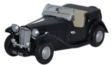 Oxford 76 MGTC 004 MG TC Convertibile Nero - 1/76 NUOVO IN SCATOLA-t48 POST