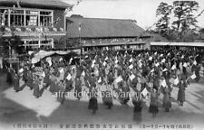 """Photo 1910 Hamamatsu Japan """"Girls High School Exercise"""""""