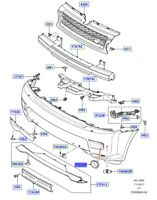 LAND ROVER GENUINE PART-BRACKET FOG LAMP- Range Rover Sport (L320)- LR019636