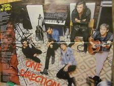 One Direction, Austin Mahone, Double Four Page Foldout Poster