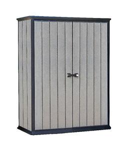 Keter 17209458 Gartenschrank Aufbewahrungsschrank Gartenbox High Store Plus