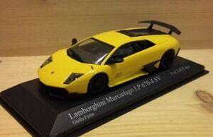 Lamborghini Murcielago LP670-4 SV gelb 2009 - 1:43