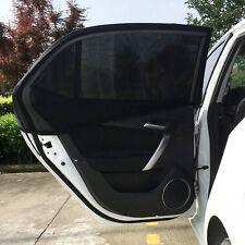 Univesal 2x Car Rear Window UV Mesh Sun Shades Blind Kids Child Sunshade Blocker