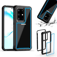 For Samsung Galaxy A20e S20+ Ultra Rugged Armor Case Hybrid Shockproof Cover