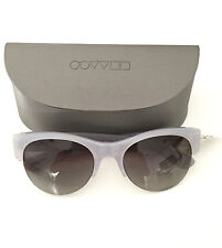 """NEW OLIVER PEOPLES Ladies """"LOUELLA"""" SUNGLASSES-NWT & CASE-Silver Grey-MSRP-$375"""