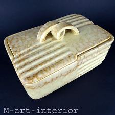Art Déco Keksdose Carstens Keramik Rheinsberg Ceramic Biscuit Box 20er 30er