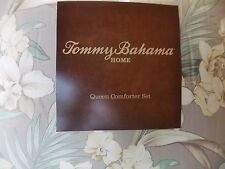 TOMMY BAHAMA~JULIE CAY~YELLOW ORCHID~3 PIECE QUEEN COMFORTER SET~NEW