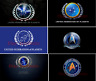 Star Trek United Federation of Planets Free Shipping Flag Size 3X5FT 90x150