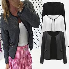 Womens Ladies Casual Blazer Office Suit Bussiness Coat Jacket Top Outwear S-4XL