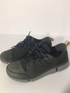 Clarks Trigenic Womens Grey Sneakers sz 8