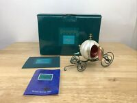 "Disney WDCC Enchanted Places ""An Elegant Coach for Cinderella"" with COA"