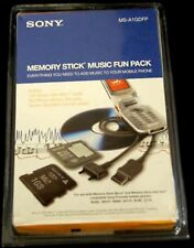 Sony 1gb 1 GB Memory Stick Music Fun Pack Micro M2 Duo Adapter Card MS-A1GDFP