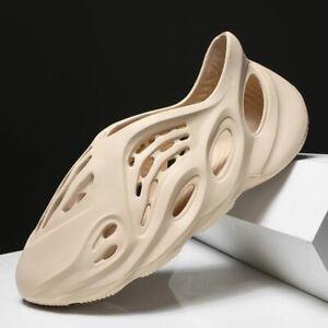 Men Women Summer Beach Shoes Sandals Casual Anti Slipper Runner Casual Beige