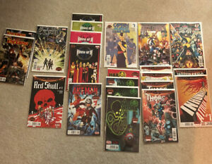 Marvel Comics 2015 Secret Wars Lot. Thors, Inhumans, Battleworld, House Of M.