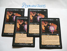 4x MTG Sterminatore di Aphetto-Exterminator Magic EDH SCG Flagello ITA Italiano