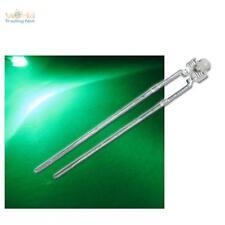 10 LED 1,8mm GRÜN Miniatur LEDs superhell + Zubehör 12V, grüne Leuchtdiode green