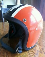 Vintage custom paint motorcycle/snowmobile 1972 # 4170 helmet harley Davidson