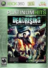 DEAD RISING (xbox 360) PLATINUM HITS Brand New sealed ships NEXT DAY with track
