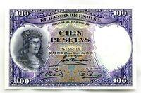 Spain-Billete. 100 Pesetas 1931. Madrid. Sin serie. SC/UNC.