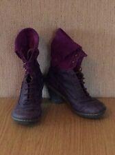 El Naturalista Purple Boots UK 5 EU 38