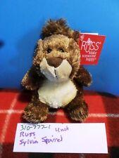 Russ Sylvia the Brown Squirrel beanbag plush(310-777-1)