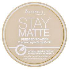Rimmel Stay Matte Pressed Face Powder Keep Skin Fresh all Day - Peach Glow