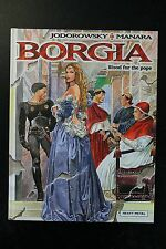 Borgia Blood for the Pope Hardcover HC Judorowsky Manara Heavy Metal NM