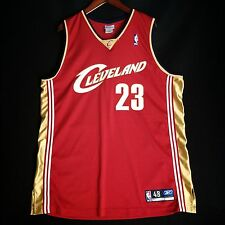 Authentic Lebron James Reebok Cavaliers Jersey Size 48 Mens