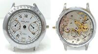 Orologio Poljot chrono mechanical watch caliber  su 3133 clock vintage spara par