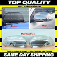 Chrome Mirror Cover 2 pcs S.STEEL VW Polo 2005-2009