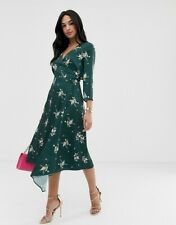 Ted Baker Aleexx Flourish Silk Asymmetrical Skirt BNWT Women Designer Clothing