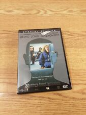 Being John Malkovich - Special Edition (Dvd, 2002) John Cusack Cameron Diaz