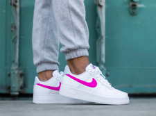 Nike Donna Air Force 1 07 BiancoFuoco Scarpe Donna